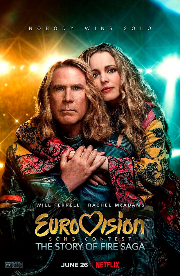 Eurovision Song Contest: The Story of Fire Saga 2020 comedias divertidas netflix