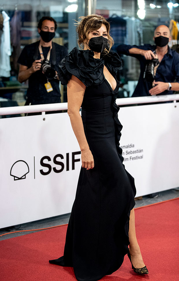 Gina Gherson en el Festival de cine de San Sebastián 2020