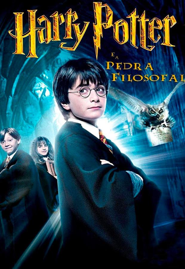 peliculas mas vistas Harry Potter y La Piedra Filosofal