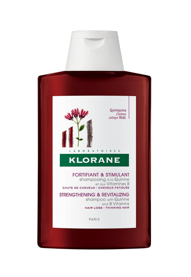 caida del cabello Klorane Champú Quinina y Vitamina B