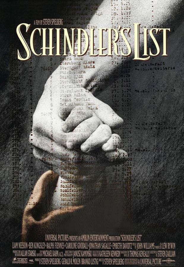 peliculas mas vistas La lista de Schindler