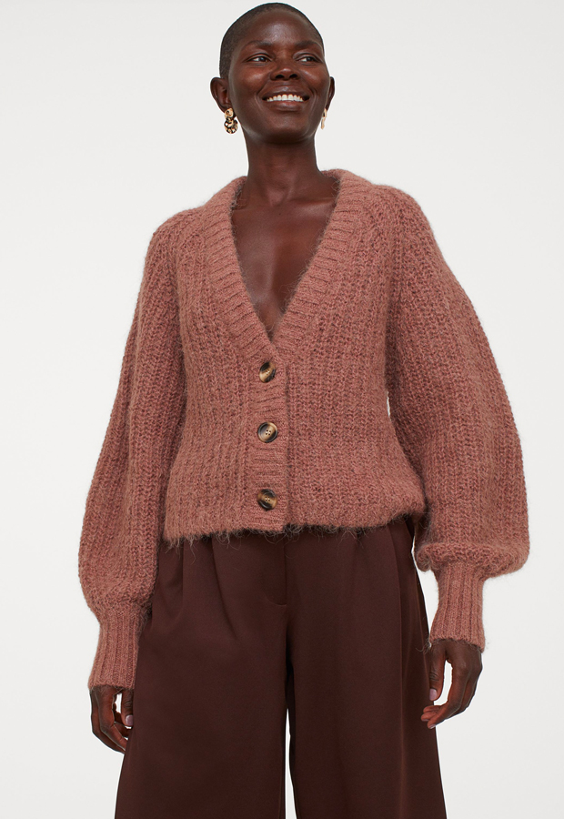 novedades hm otoño Cárdigan en punto de lana