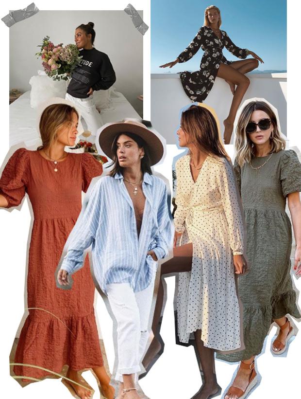 Influencers con ropa de la nueva tienda online de Lefties
