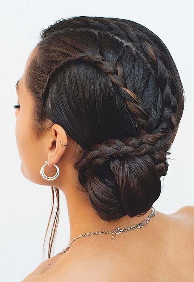 peinados bonitos con trenzas hairandmakeupbysteph