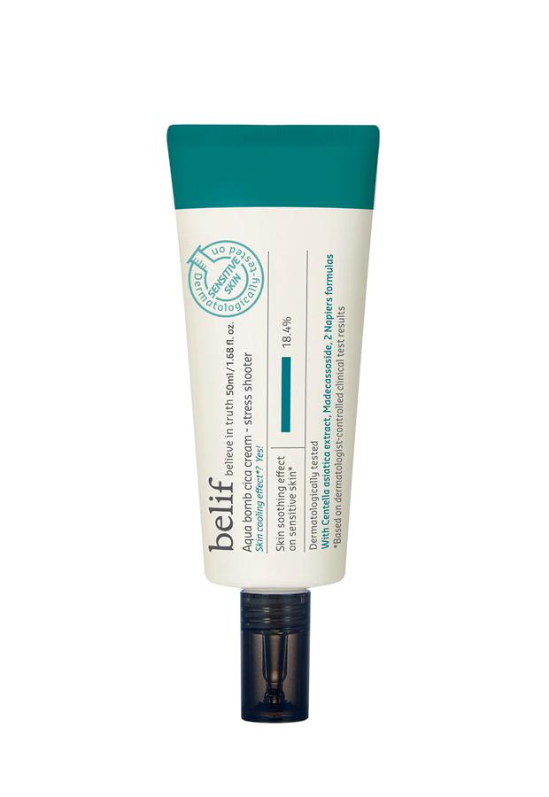 productos para piel sensible Aqua Bomb Cica Cream de Belif