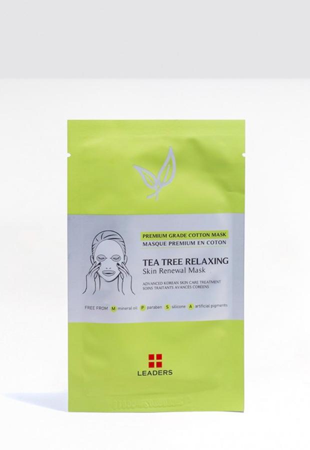 productos para piel sensible Mascarilla de árbol de té de Leaders