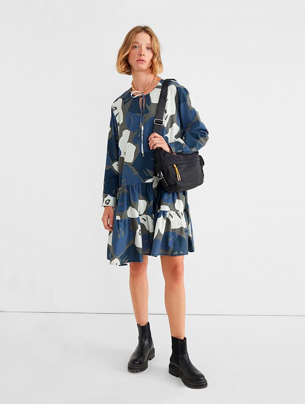 Vestido de estampado floral de Parfois