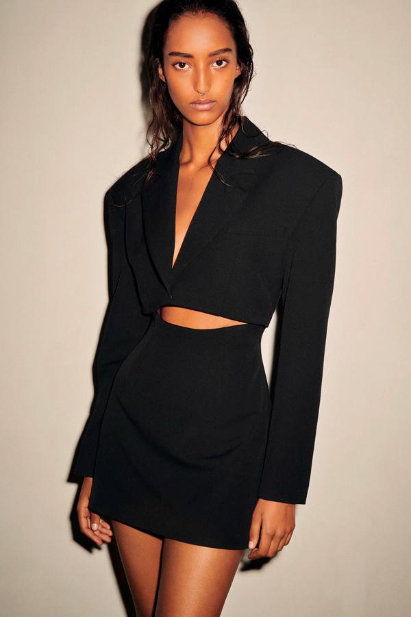 Vestido de Zara de estilo blazer