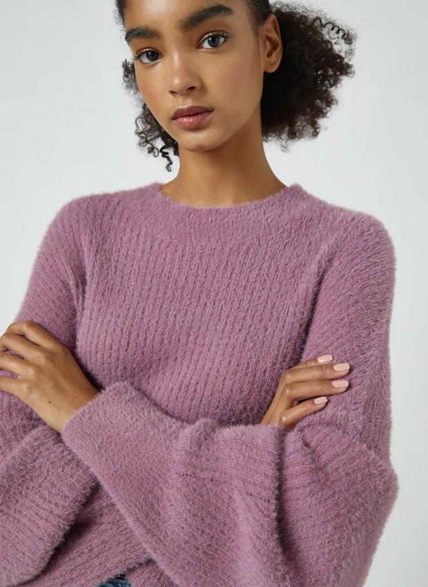 Jersey de pelo corto de las novedades Pull&Bear otoño 2020