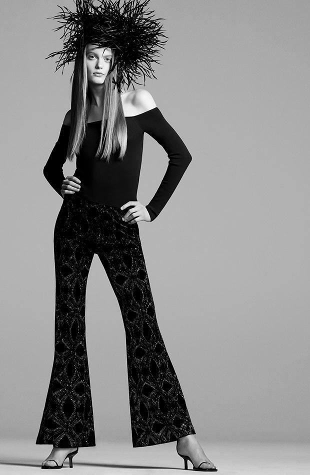 pantalones espectaculares Pantalón flare de Zara
