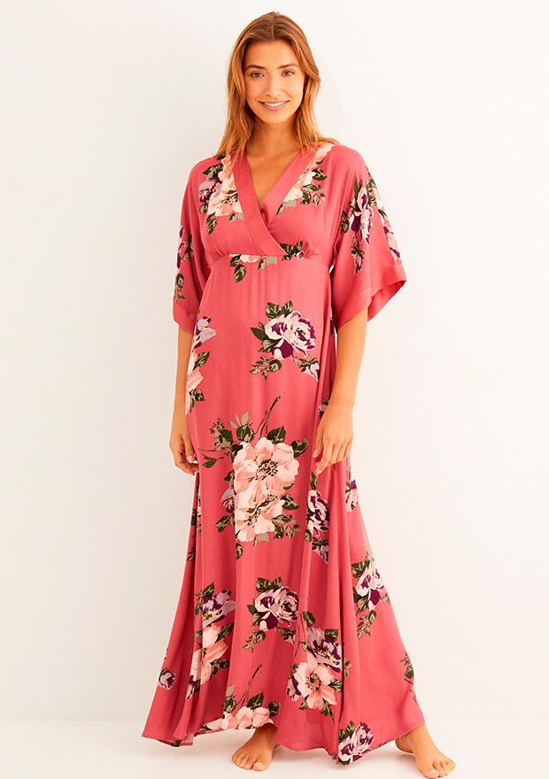 Camisón largo de flores de Women'secret otoño 2020