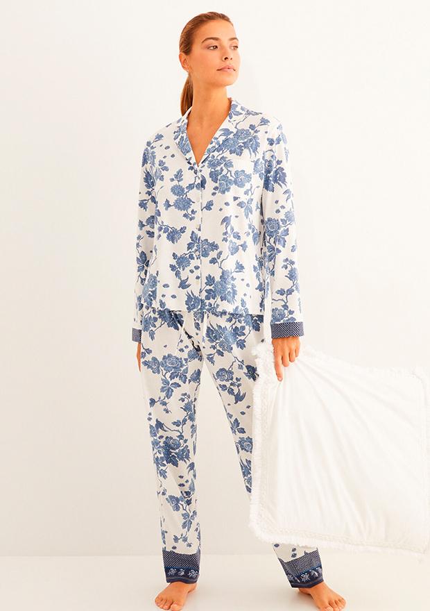 Pijama estampado de flores de Women'secret otoño 2020