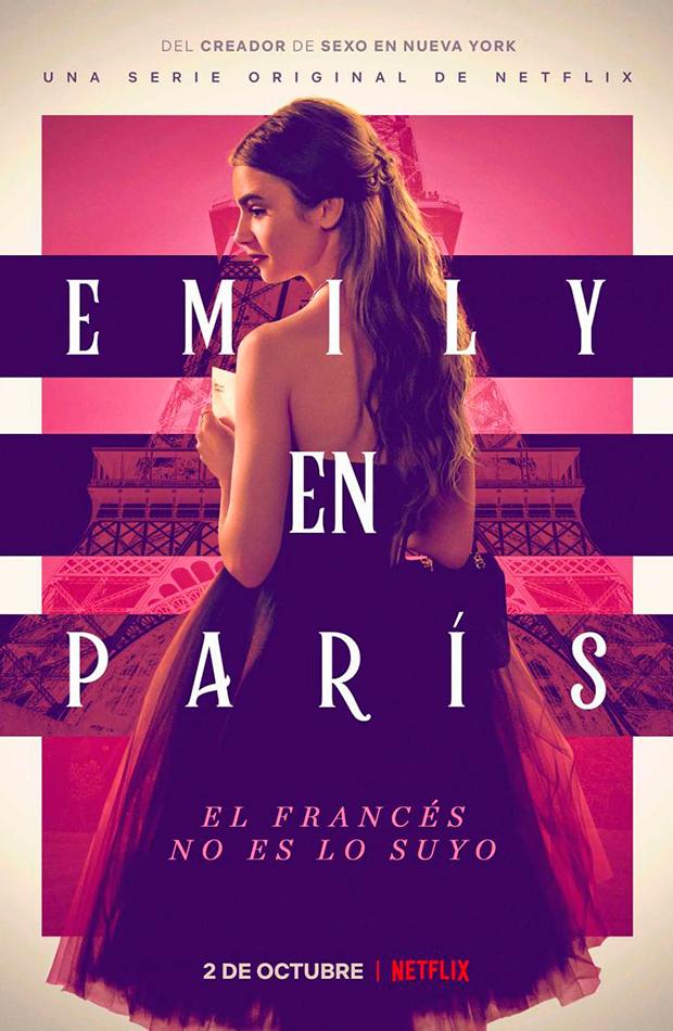 series de netflix series que triunfan Emily in Paris - Netflix