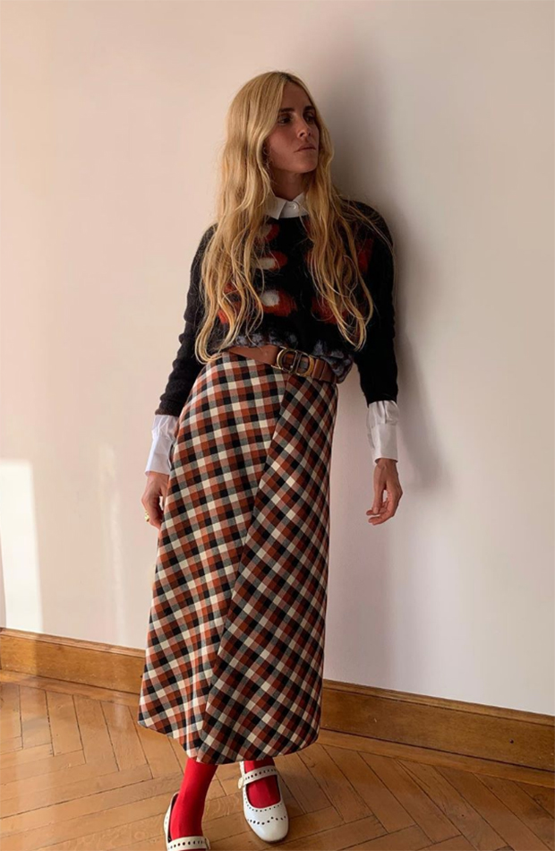 tendencias otoño invierno faldas midi