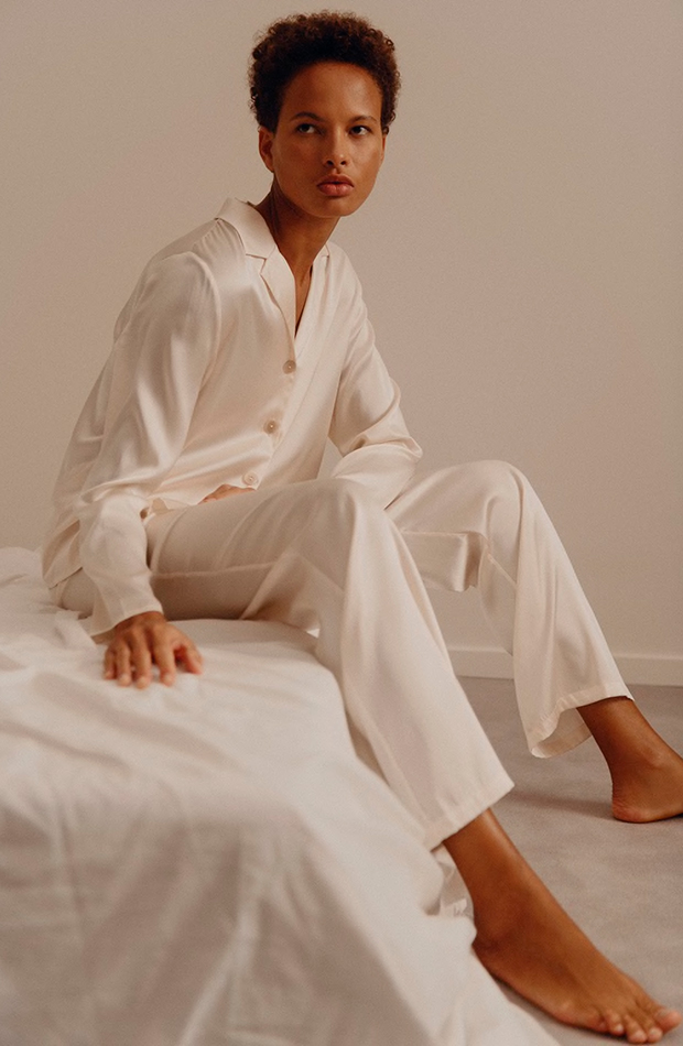 the female gaze colección de lencería zara Pijama de seda