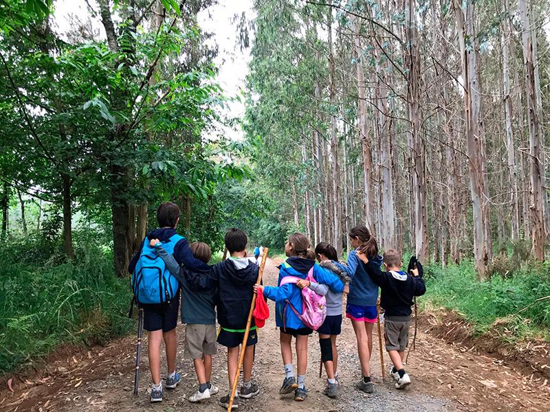 Viajar con niños: Camino de Santiago