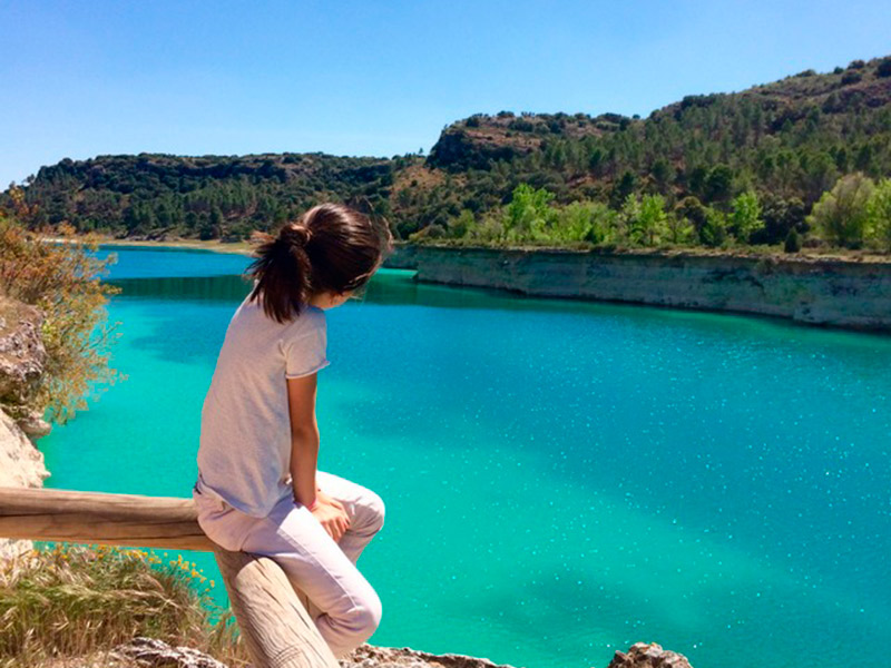 Viajar con niños por España: Lagunas de Ruidera