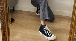 Estas son las zapatillas tendencia que mejor quedan con vaqueros y jerséis de punto