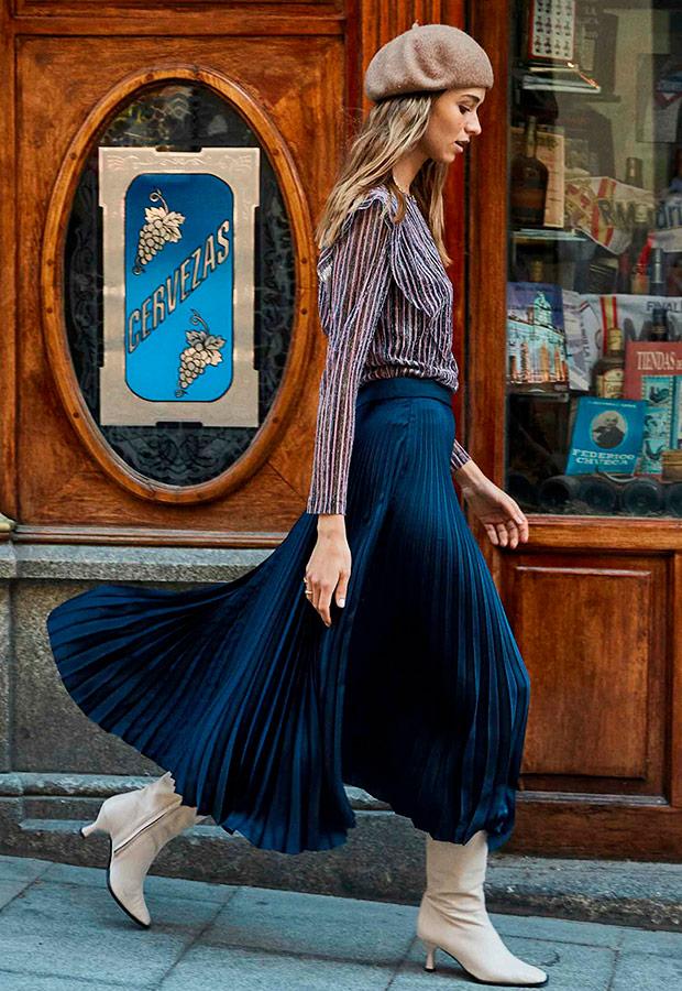 Falda de la colección Carmencita de Colour Nude