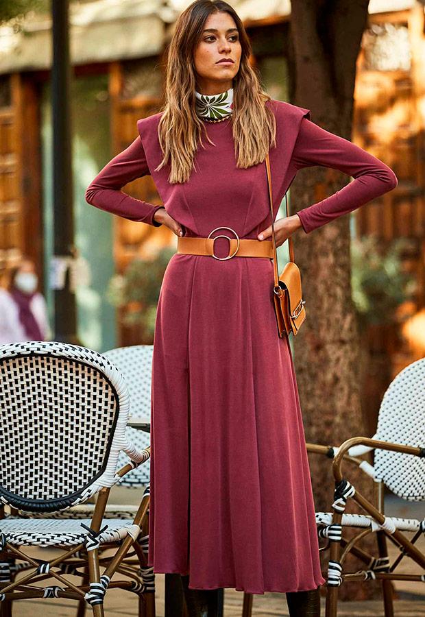 Vestido de la colección Carmencita de Colour Nude