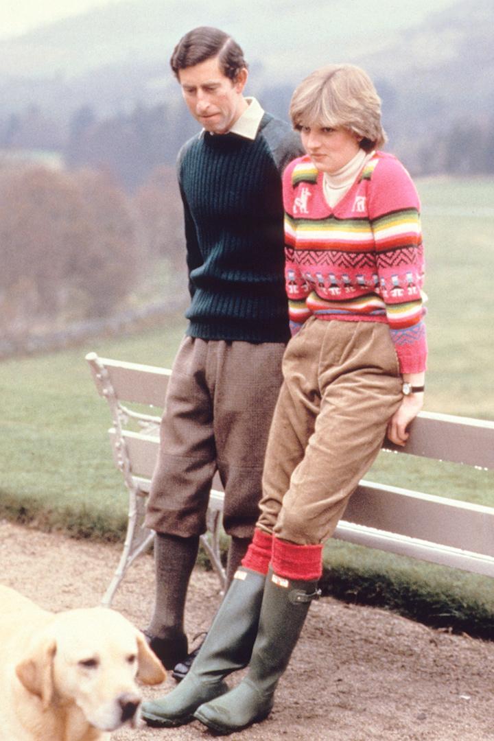Diana de Gales con look de campo