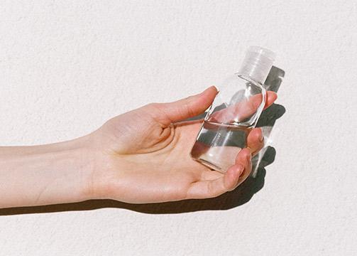 geles hidroalcohólicos con aromas