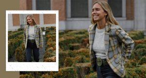 Lucía Bárcena tiene el perfecto look de otoño