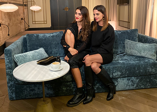 Olivia Molina y Macarena Gómez en L'interdit Sessions