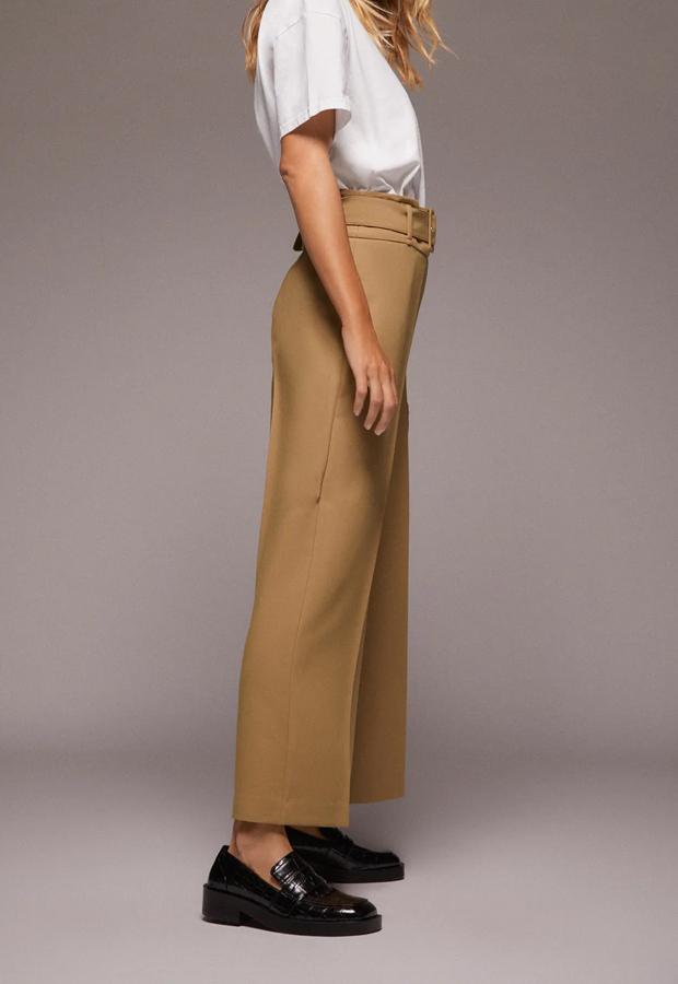 Pantalón culotte de los Special Prices de Zara
