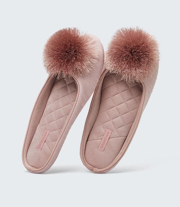 zapatillas de estar por casa elegantes de Oysho