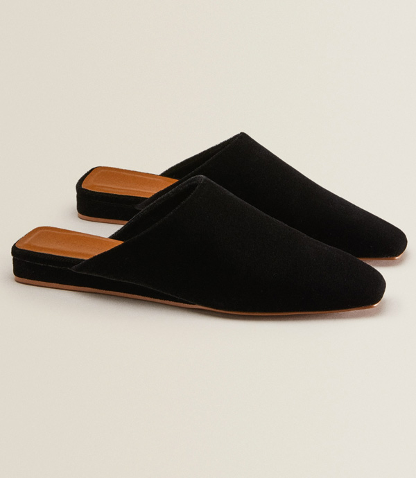 zapatillas de estar por casa elegantes de Zara Home