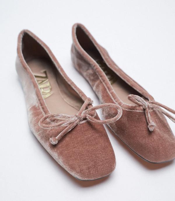 zapatillas de estar por casa elegantes de Zara