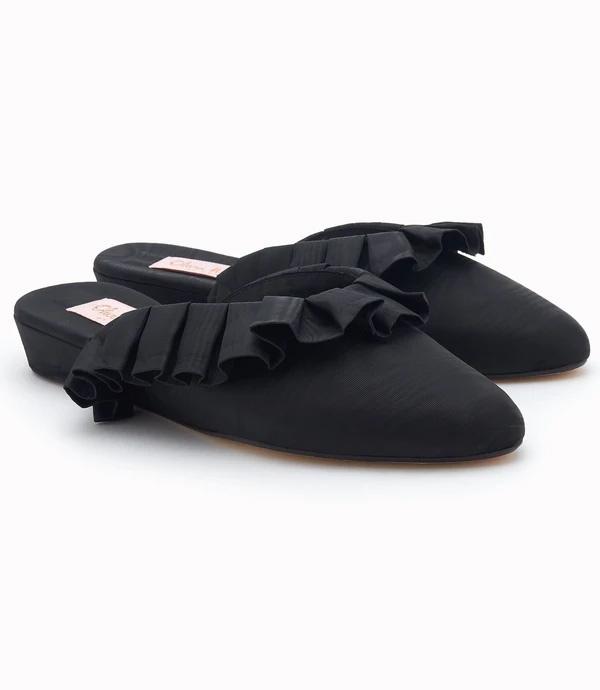 zapatillas de estar por casa elegantes de Olivia Morris