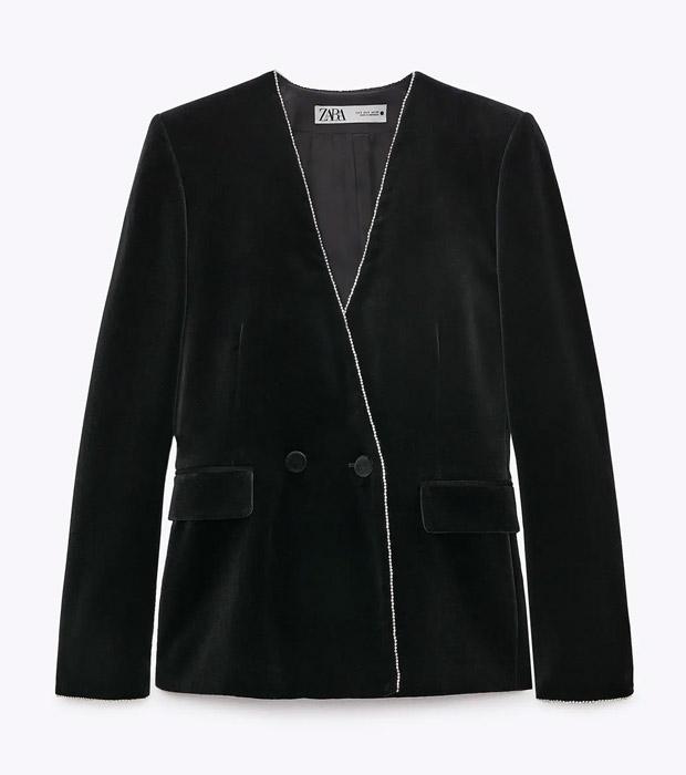 Blazer de Zara negra