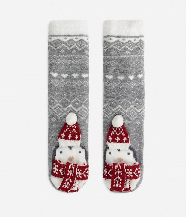 Calcetines para navidad de Oysho