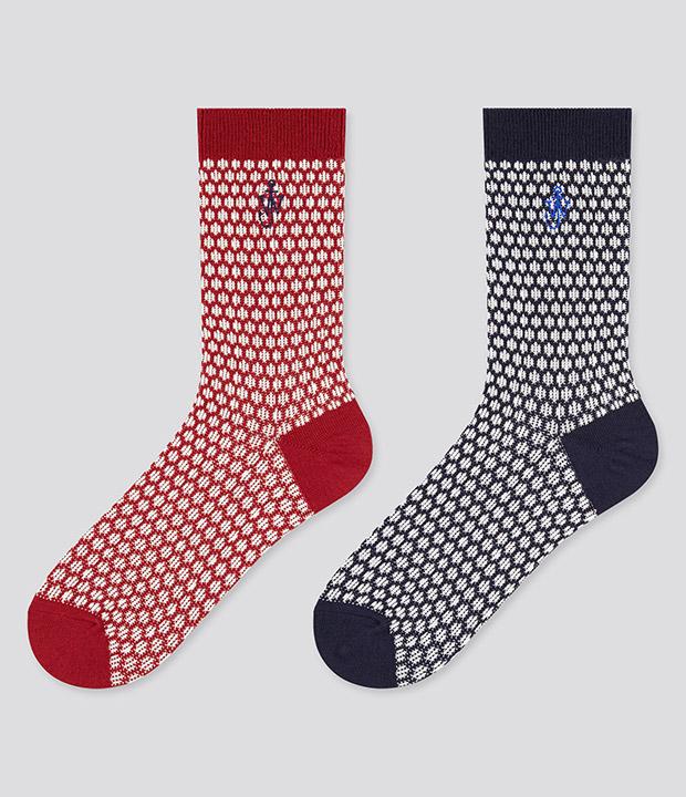 Calcetines para navidad de JW Anderson & Uniqlo