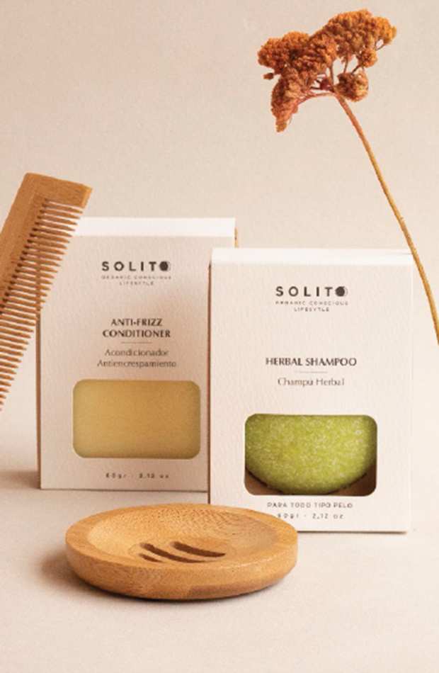 productos para el pelo más vendidos: Zero Waste Hair Care de Kriim