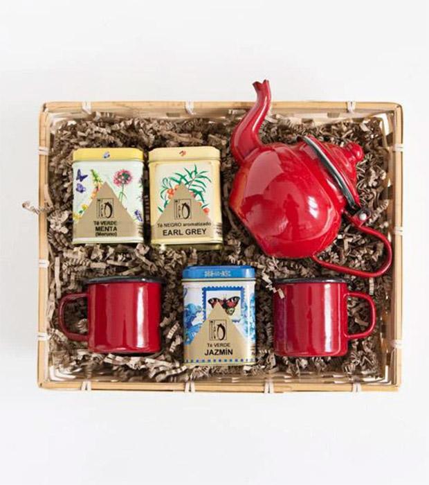 Regalos de reyes para mujer: Pack de té de Real Fábrica Española