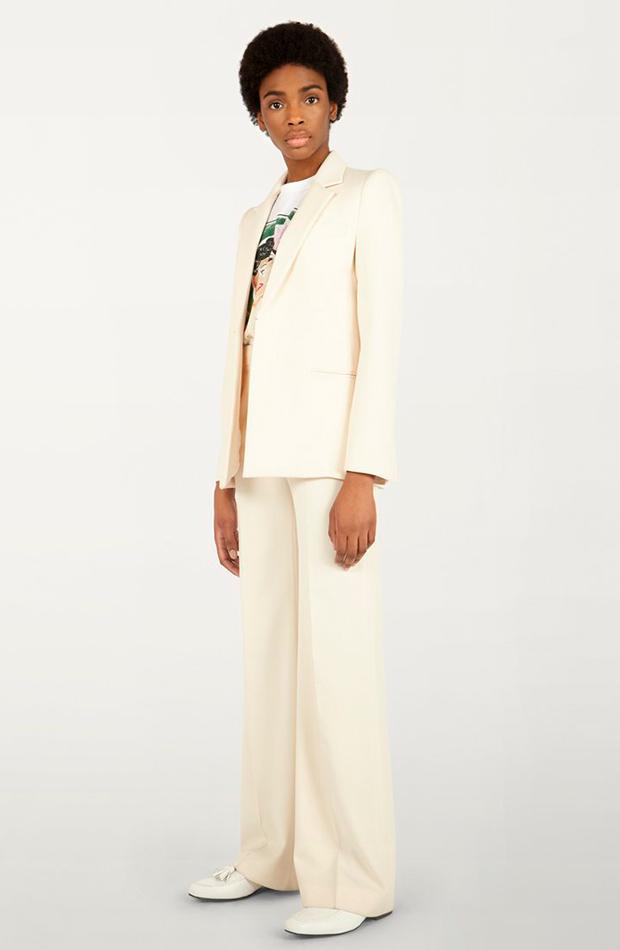 trajes de chaqueta para novias del 2021