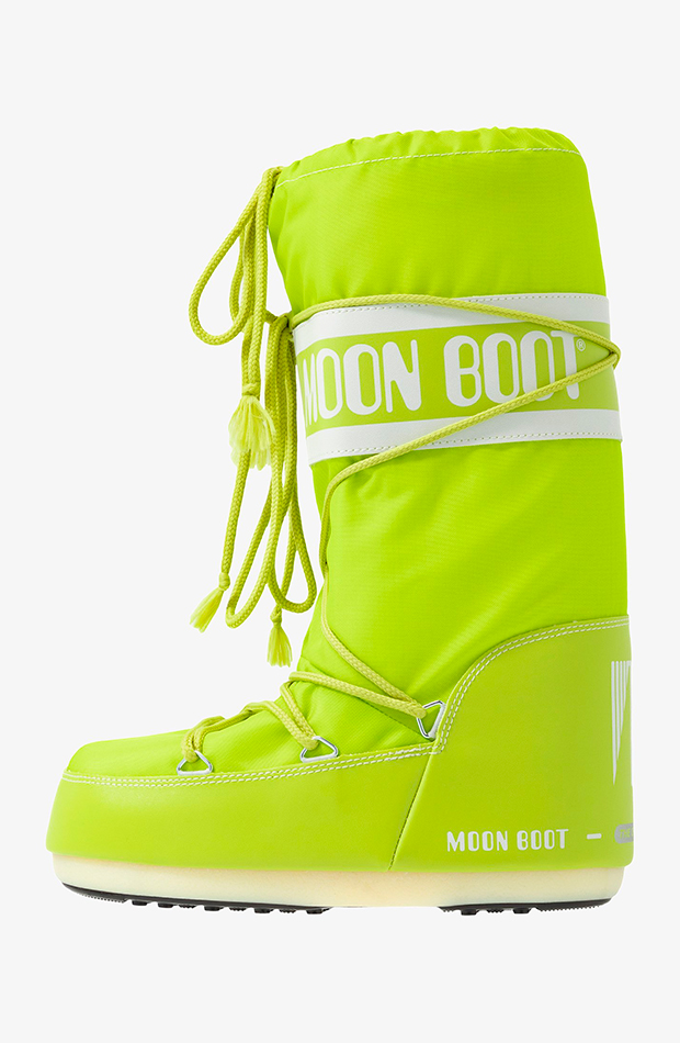 botas après ski Moon Boot en color verde lima