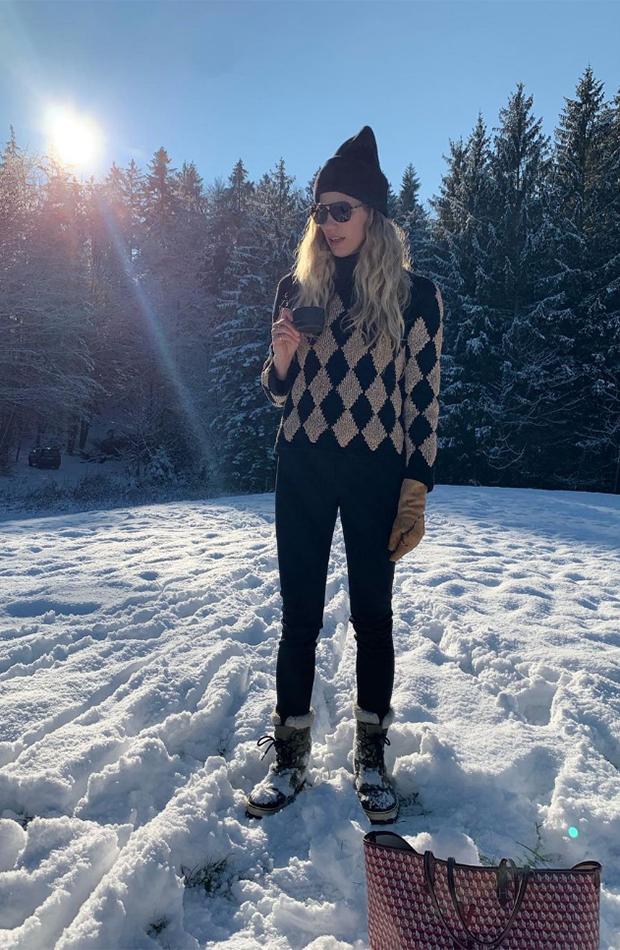 botas après ski looks para la nieve de Veronika Heilbrunner