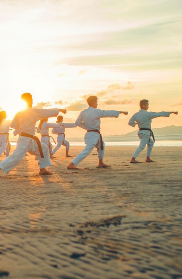Artes marciales deportes divertidos