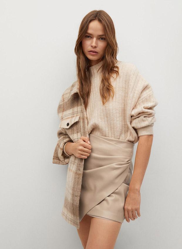 Minifalda pastel