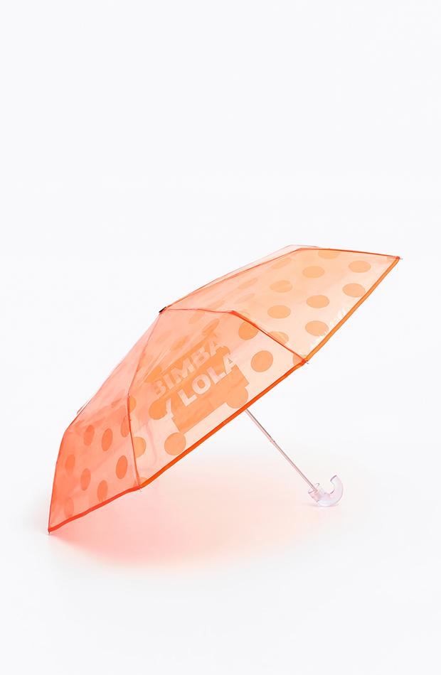 imprescindibles para días de lluvia Paraguas de Bimba Y Lola