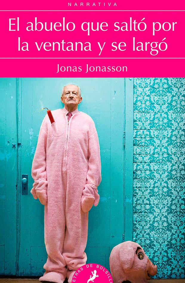 libros de risa El abuelo que saltó la ventana y se largó - Jonas Jonasson