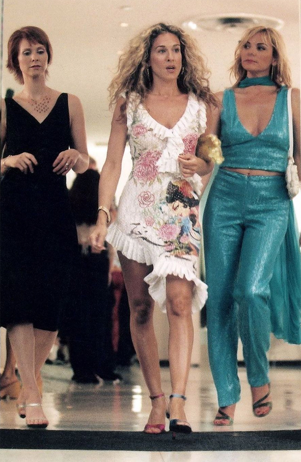 Carrie Bradshaw mejores looks de sexo en nueva york