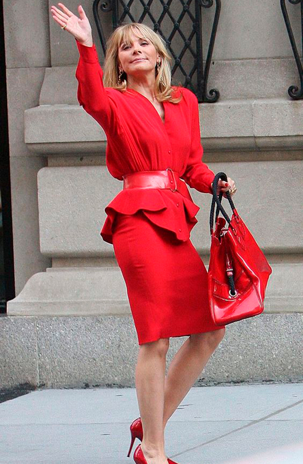 Samantha Jones mejores looks de sexo en nueva york