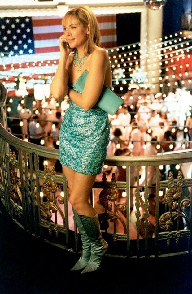 mejores looks de sexo en nueva york Samantha Jones