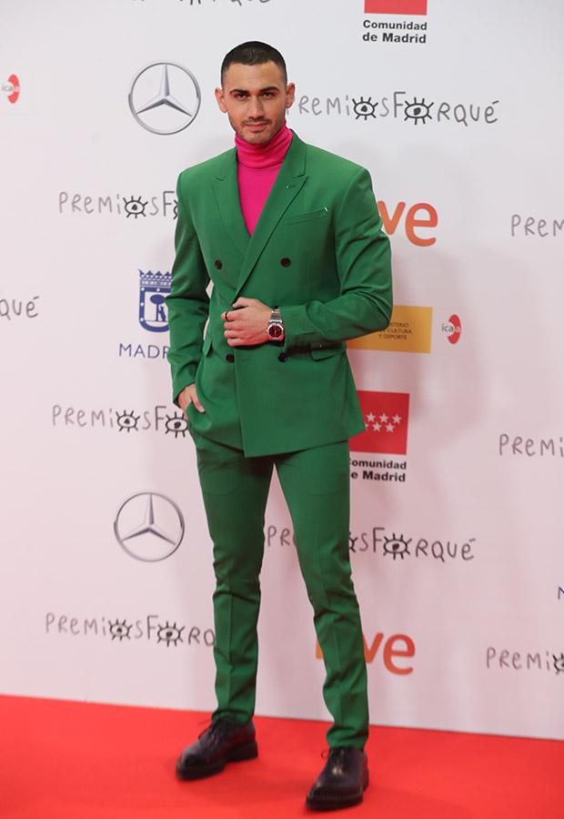 Alejandro Speitzer en los Premios Forqué 2021