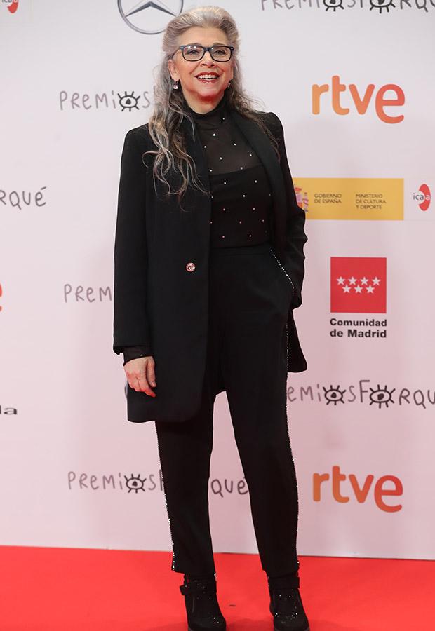 Kiti Manver en los Premios Forqué 2021